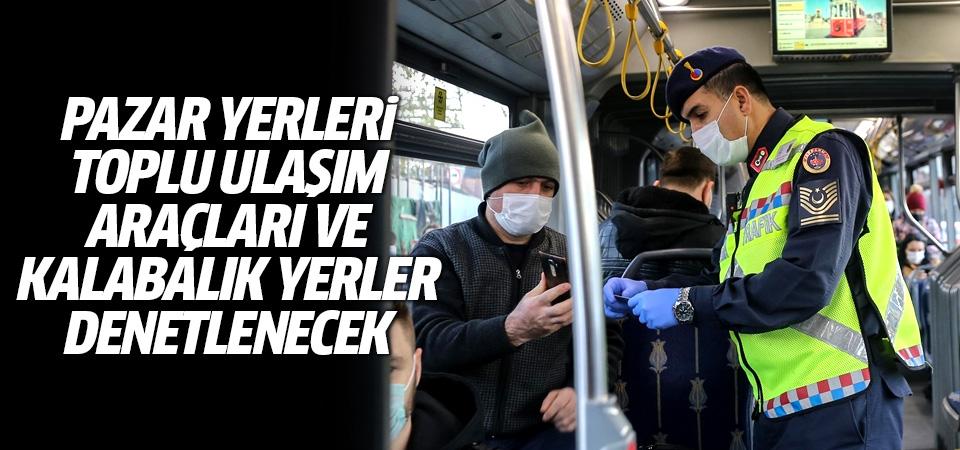 Tüm Türkiye'de 4 gün boyunca koronavirüs denetim yapılacak