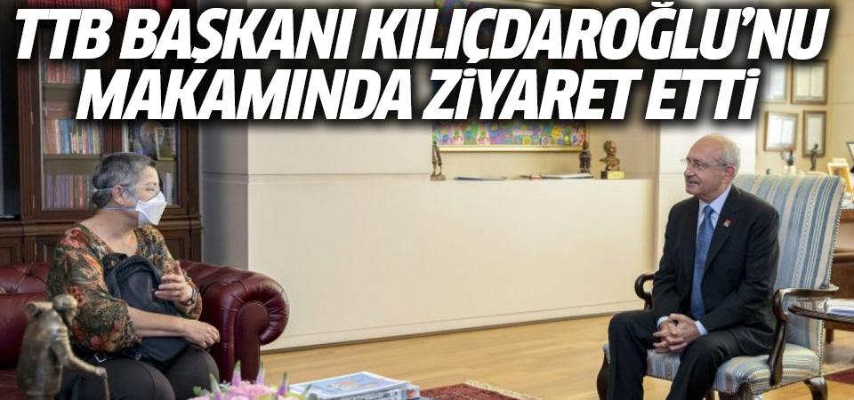 Kemal Kılıçdaroğlu, TTB heyetiyle görüştü