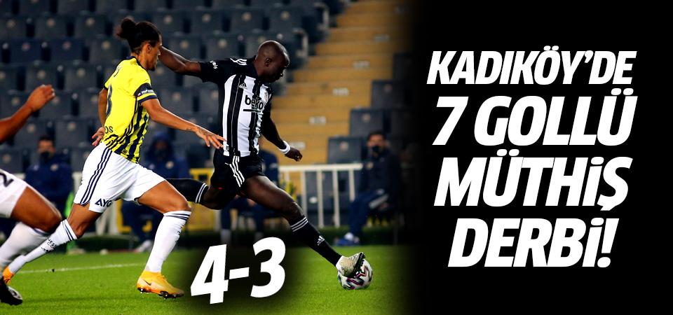 Kadıköy'de 7 gollü müthiş derbi!