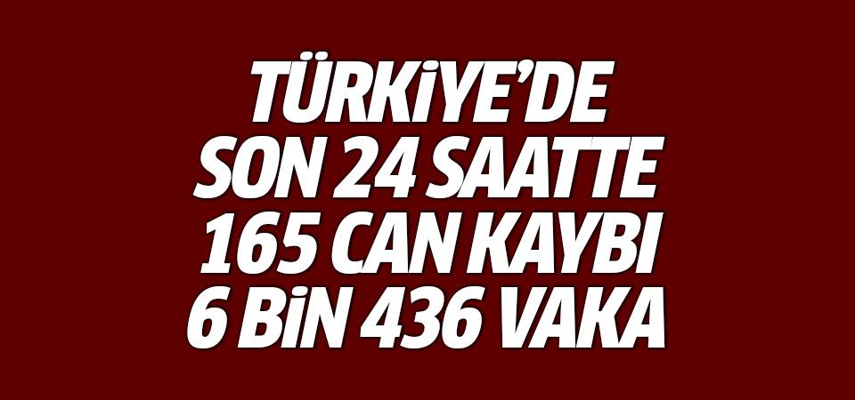 Türkiye'de corona virüsten son 24 saatte 165 can kaybı, 6 bin 436 yeni vaka 17 Ocak 2021