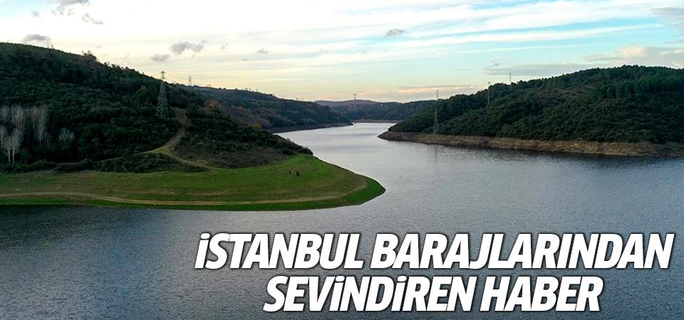 İstanbul barajlarından sevindiren haber! Yüzde 31,89'a yükseldi