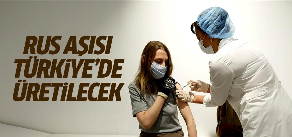 Rus corona virüs aşısı Türkiye'de üretilecek