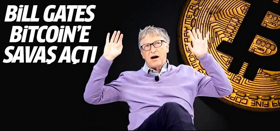 Bill Gates Bitcoin'e savaş açtı: Hiç satın almadım!