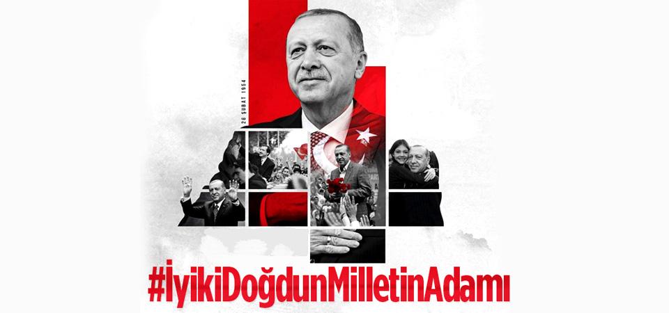 AK Parti'den Erdoğan'a doğum günü sürprizi!
