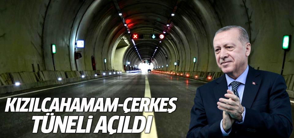 Kızılcahamam-Çerkeş Tüneli açıldı