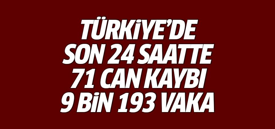 Türkiye'de corona virüsten son 24 saatte 71 can kaybı, 9 bin 193 yeni vaka 27 Şubat 2021