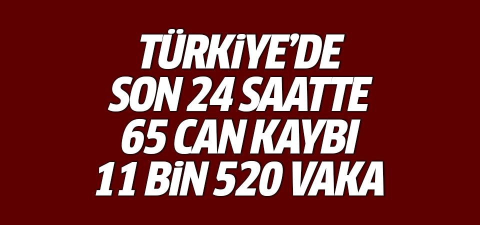 Türkiye'de corona virüsten son 24 saatte 65 can kaybı, 11 bin 520 yeni vaka 3 Mart 2021