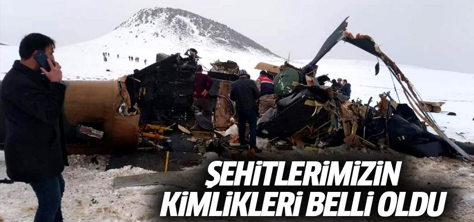 Bitlis şehitlerimizin kimlikleri belli oldu