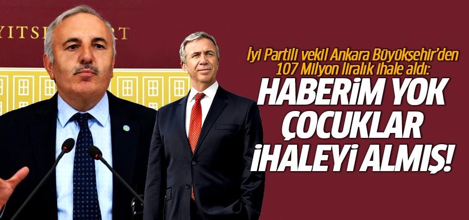 Ankara Büyükşehir'den İyi Partili Bedri Yaşar'a 107 milyonluk ihale kıyağı!