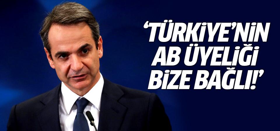 Miçotakis: Türkiye'nin AB üyeliği bize bağlı