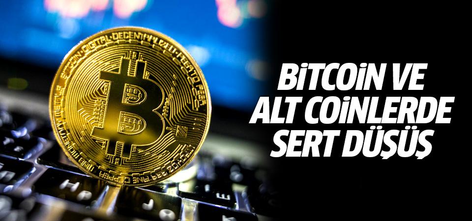 Kripto para piyasasında büyük çöküş: Bitcoin ve alt coinler çakıldı