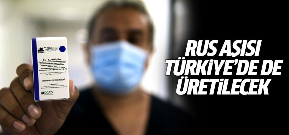 Sputnik V koronavirüs aşısı Türkiye'de de üretilecek