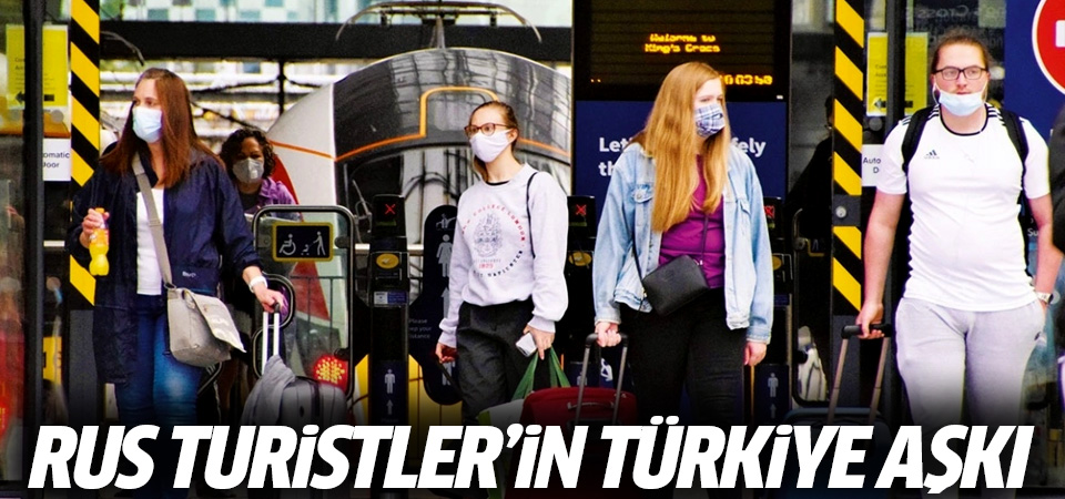 Rus turist Türkiye'yi bekliyor