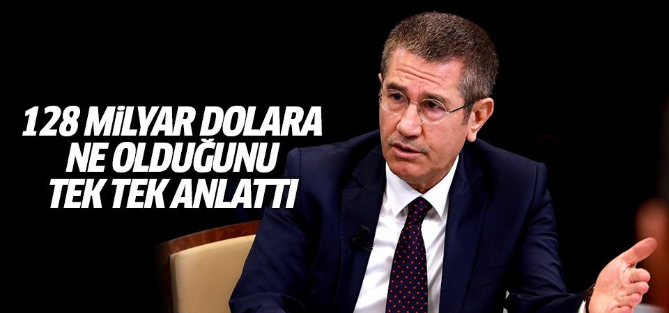 Nurettin Canikli, 128 milyar dolara ne olduğunu tek tek anlattı