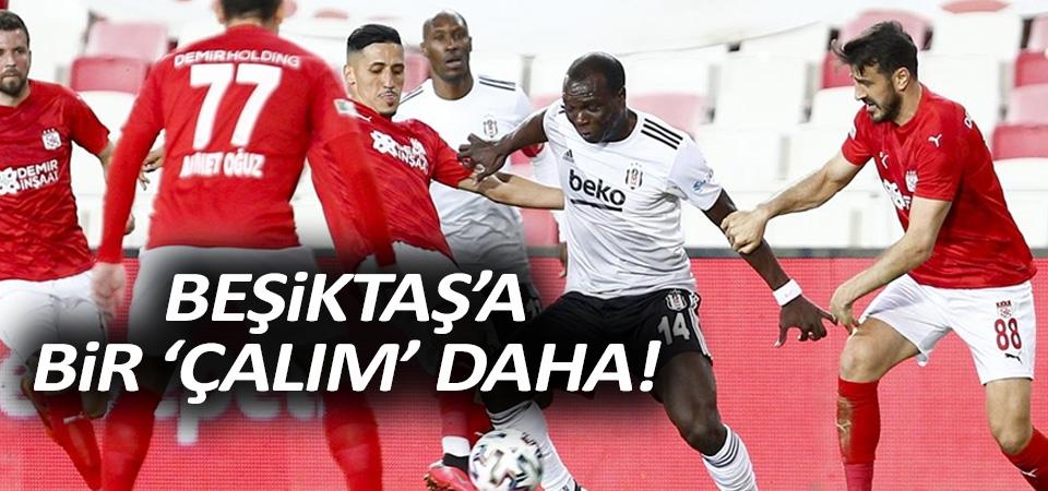 Beşiktaş'a bir çelme de Sivas'tan! 0-0