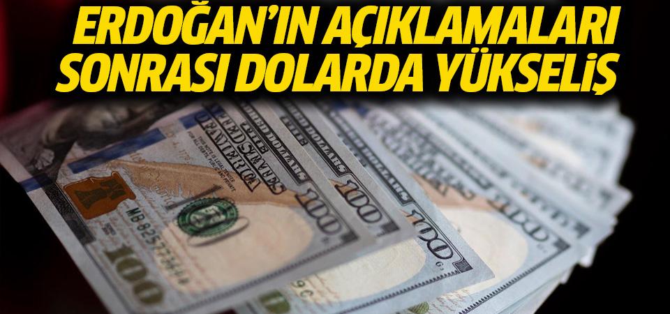 Erdoğan'ın 128 milyar dolar açıklaması doları yükseltti