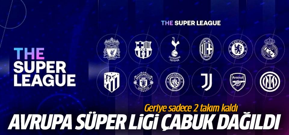 Avrupa Süper Ligi çabuk dağıldı! Geriye sadece 2 takım kaldı