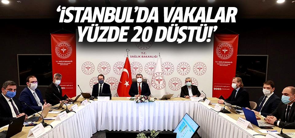 Sağlık Bakanı Koca: İstanbul'da vakalar yüzde 20 düştü