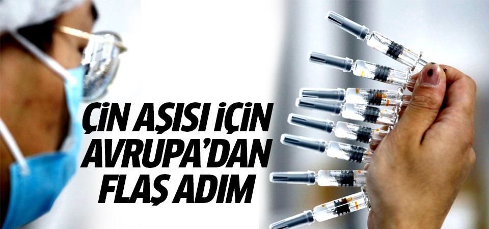 Türkiye'de kullanılan Çin aşısı için Avrupa'dan yeni adım