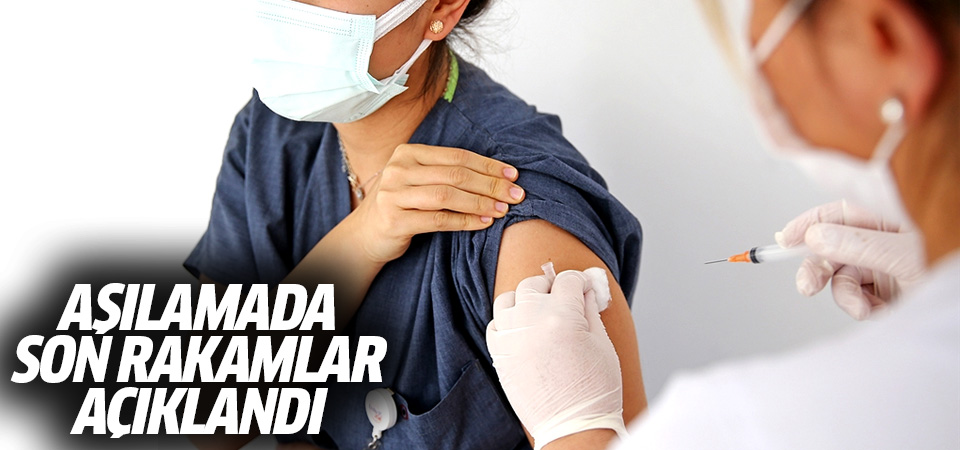 Sağlık Bakanlığı uygulanan toplam aşı miktarını açıkladı
