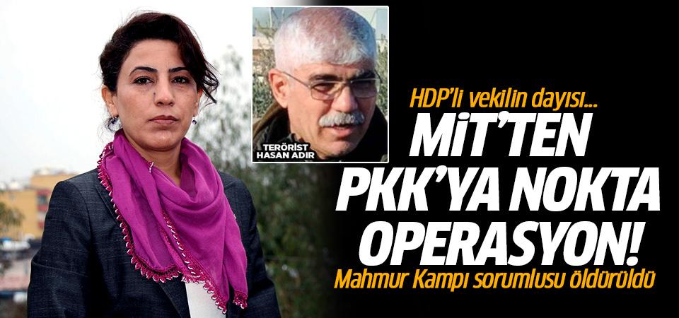 PKK'nın Mahmur sorumlusu Hasan Adır öldürüldü! HDP'li vekilin dayısı...