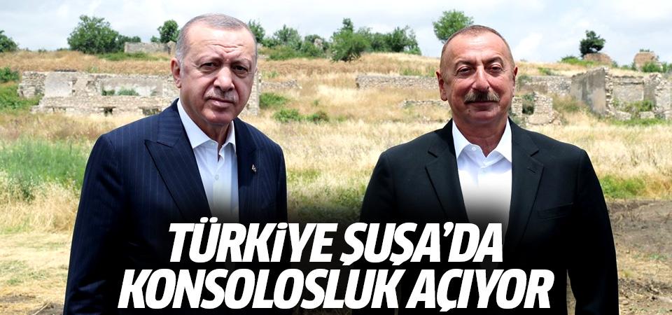 Türkiye Şuşa'da konsolosluk açıyor