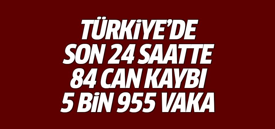 Türkiye'de corona virüsten son 24 saatte 84 can kaybı, 5 bin 955 yeni vaka 15 haziran 2021