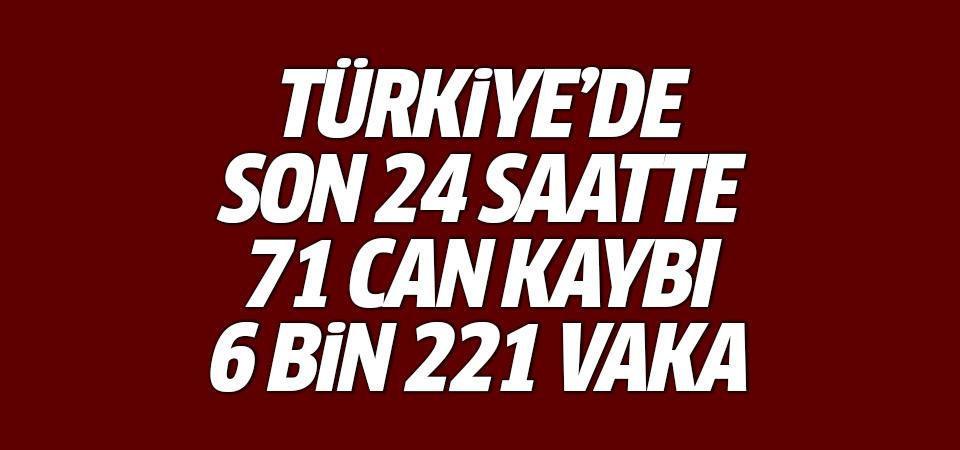 Türkiye'de corona virüsten son 24 saatte 71 can kaybı, 6 bin 221 yeni vaka 16 haziran 2021