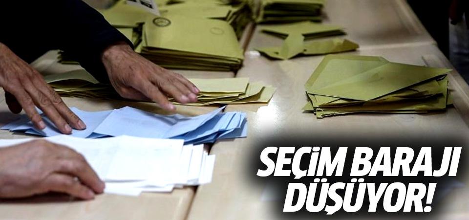 AK Parti son taslağı sundu! Seçim barajı yüzde 5'e düşecek