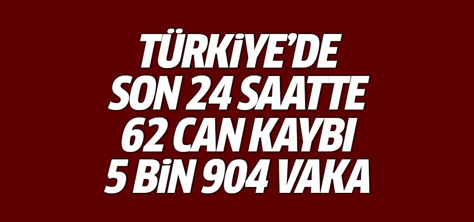 Türkiye'de corona virüsten son 24 saatte 62 can kaybı, 5 bin 904 yeni vaka 17 haziran 2021