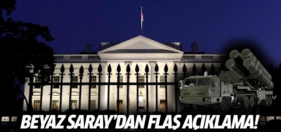 Beyaz Saray'dan S-400 açıklaması! Kabil Havalimanı konusunda anlaşmaya varıldı