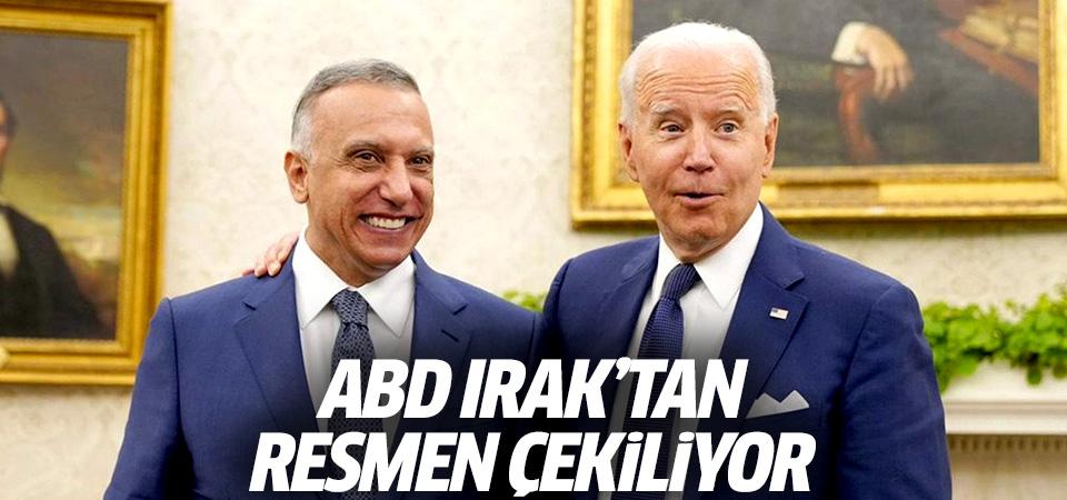 Dünya bu görüşmeye odaklandı! ABD Irak'tan resmen çekiliyor