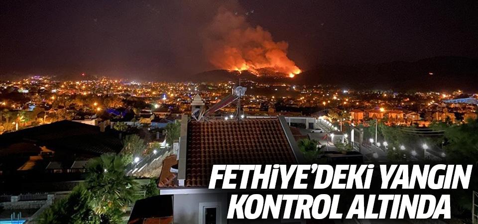 Fethiye'deki yangın kontrol altında