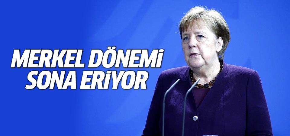 Merkel dönemi sona eriyor