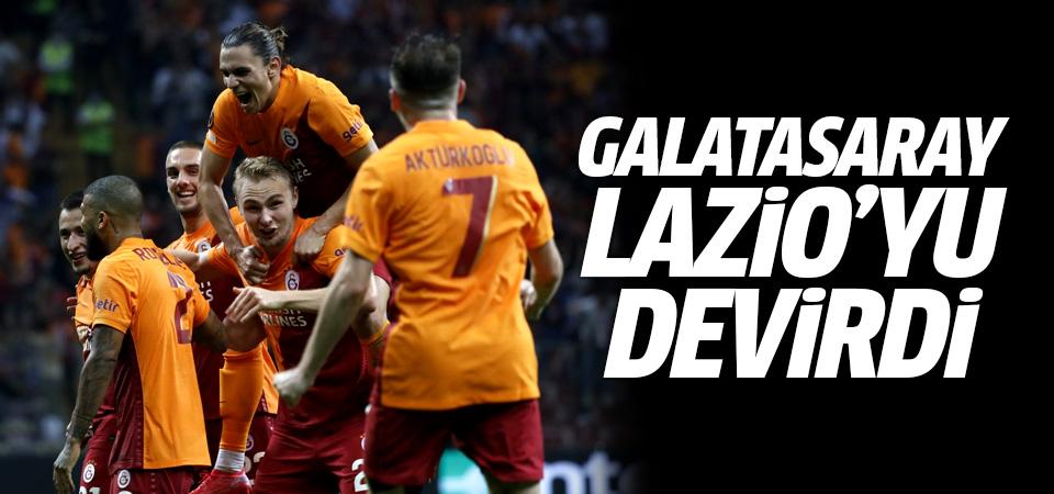 Galatasaray Lazio'yu devirdi! 1-0
