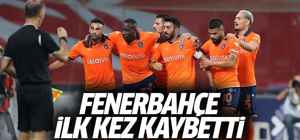 Fenerbahçe ilk kez kaybetti! 2-0