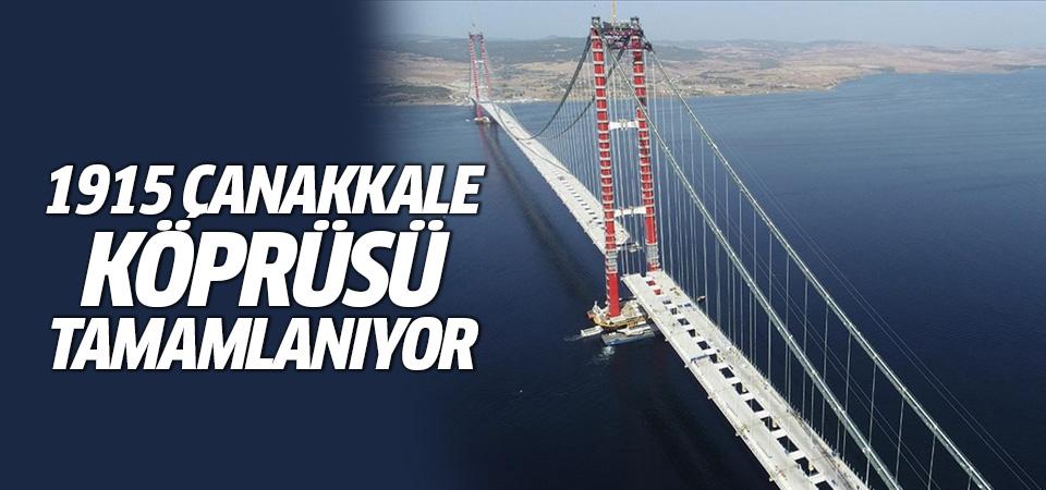 1915 Çanakkale Köprüsü tamamlanıyor