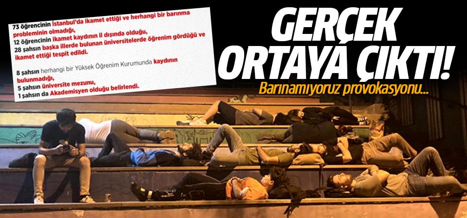 İçişleri Bakanlığı açıkladı! 'Barınamıyoruz' eylemlerinde gerçek ortaya çıktı!