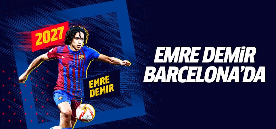 Emre Demir Barcelona'da