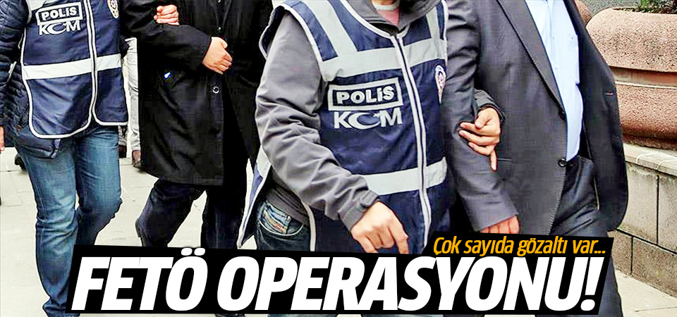 Ankara merkezli FETÖ soruşturmasında 51 gözaltı kararı