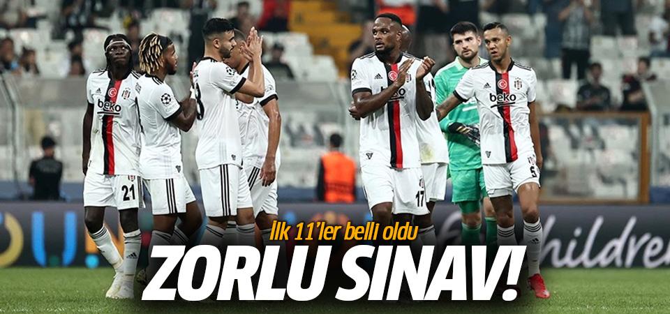 Beşiktaş zorlu Ajax deplasmanında! ilk 11'ler belli oldu