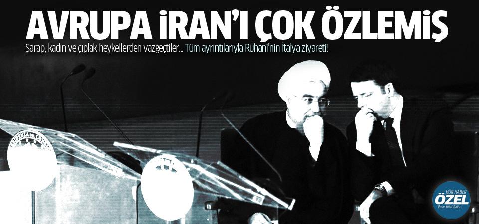 Tüm ayrıntılarıyla Ruhani'nin İtalya ziyareti