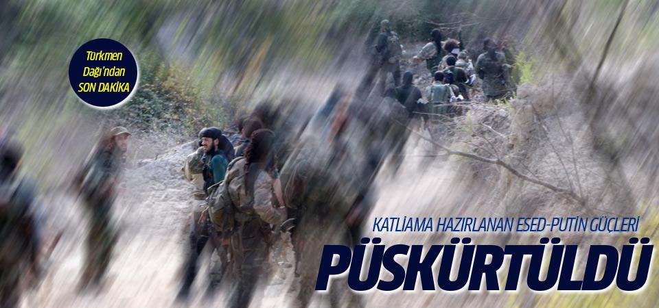 Rejim Kızıldağ'a kadar püskürtüldü