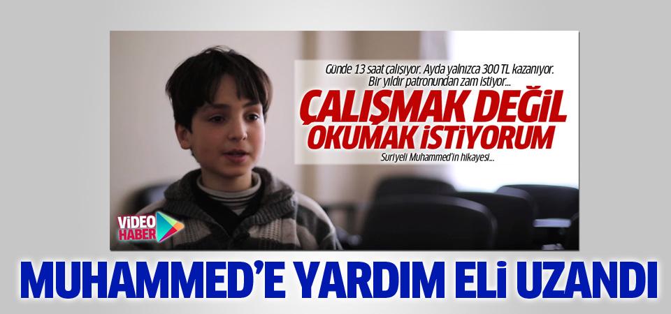 Suriyeli Muhammed artık okula gidiyor