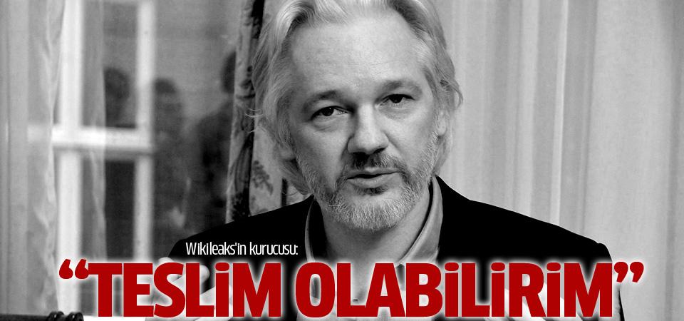 Julian Assange: Teslim olabilirim