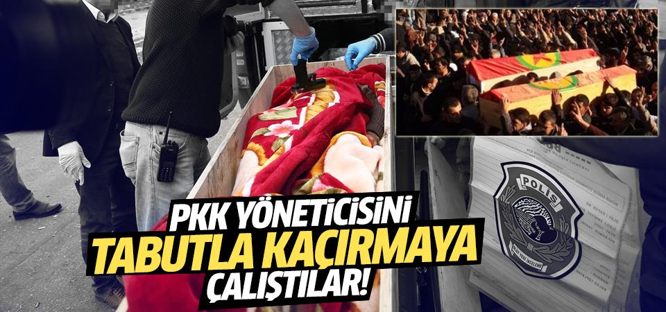 PKK yöneticisini tabuta koyup kaçırmaya çalıştılar!