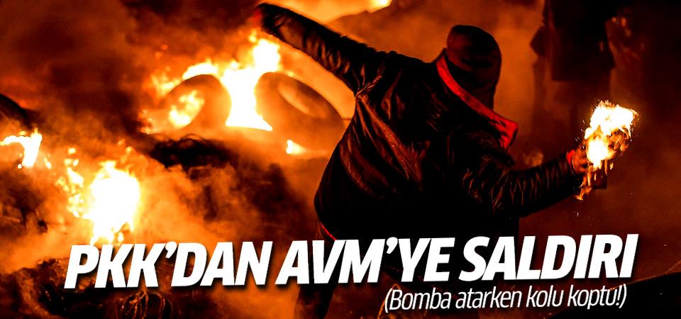 Diyarbakır'da AVM'ye saldırı!