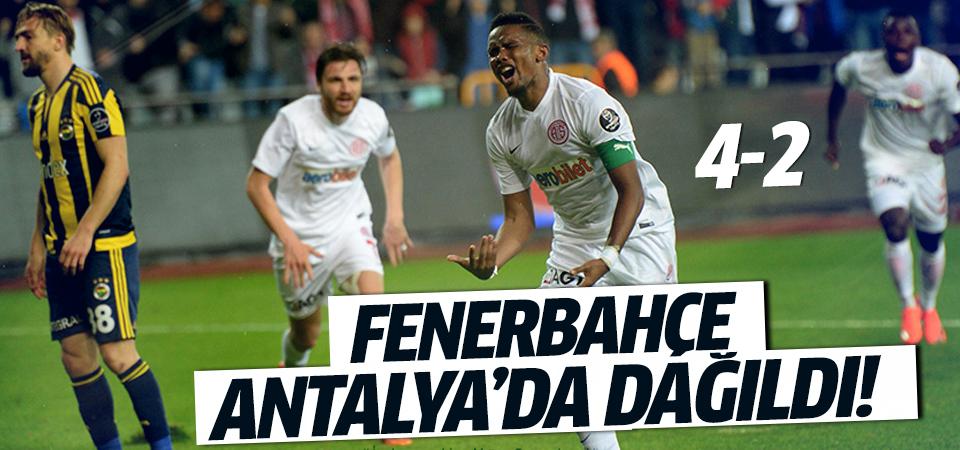 Antalyaspor - Fenerbahçe maç sonucu