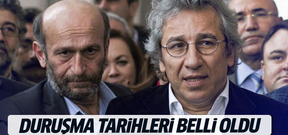 Dündar ve Gül'ün ilk duruşma tarihi belli oldu