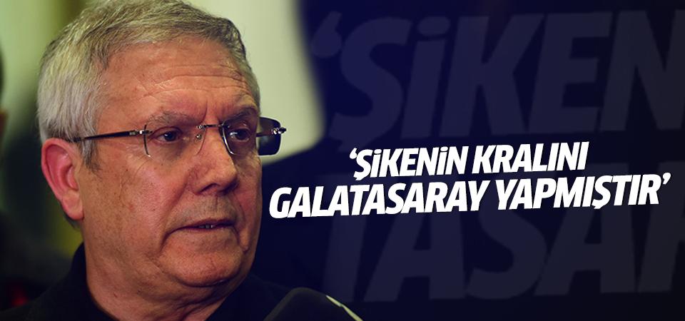 Aziz Yıldırım: Şikenin kralını Galatasaray yapmıştır